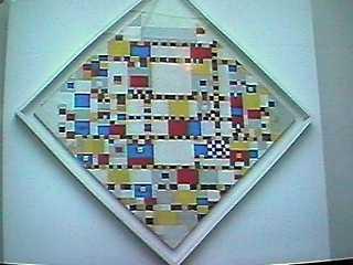 Victory Boogy Woogy van Piet Mondriaan