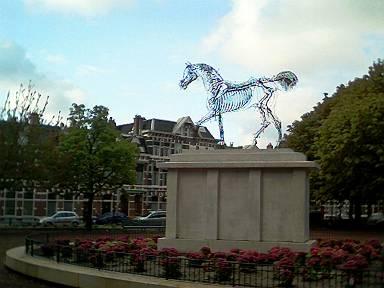 horsepower op het Koningsplein is 's nachts niet te zien