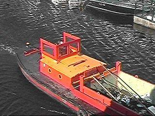 Vuilmatroos door Haagse wateren ...