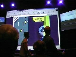 een zelfdenkende weg met een eigen Denk dek website