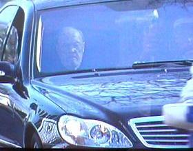 prins Bernhard kwam rechtstreeks naar Delft om de rouwplechtigheid bij te wonen