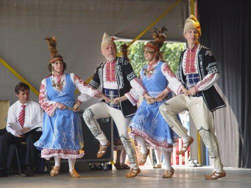 folkloristische dansgroep Nipah