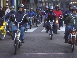 Fluweleburgwal, einde van de 2005-tocht