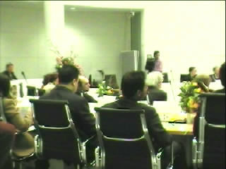 Van opzij gezien Michel Dufresne de eerste fractievoorzitter van Leefbaar Den Haag