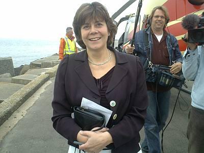 ik schiet enkele fraaie plaatjes van minister Rita Verdonk