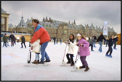 Zelf je schaatsstep in elkaar zetten