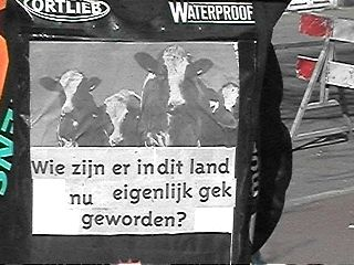 Waanzin, waanzin, waanzin en de Nederlander doet niets ...