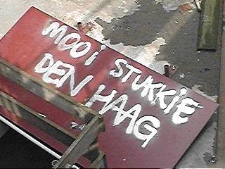 'n mooi stukkie Den Haag ...